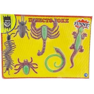 مجموعه حشرات ژله ای وکیوم شده