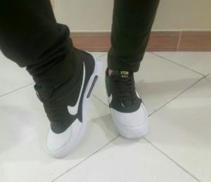 کفش مردانه نایک سبز و سفید-تصویر 4