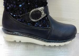 کفش ساقدار دخترانه تمام خز-تصویر 4