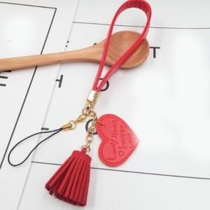 آویز و بند کیف و موبایل طرح قلب-تصویر 3