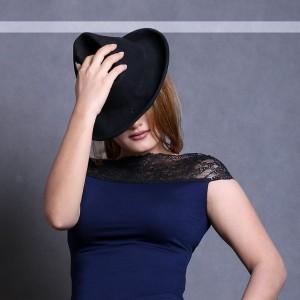 تاپ زنانه کژوال ویسکوز مدل یقه گیپور