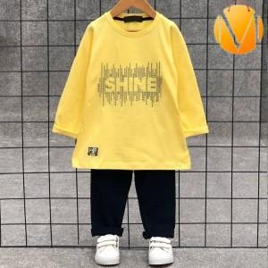 بلوز شلوار Shine ساده-تصویر 2