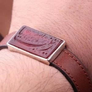 دستبند عقیق خطی-تصویر 2