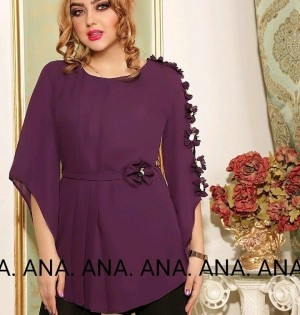 شومیز عید مدل آنا-تصویر 2