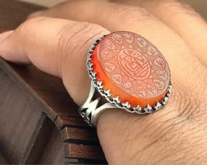 انگشتر عقیق یمنی اصل-تصویر 2