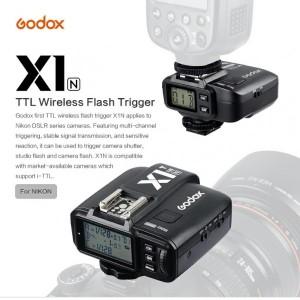 فلاش تریگر  بی سیم مخصوص دوربین نیکون GODOX X1 N TTL-تصویر 4
