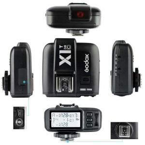 فلاش تریگر  بی سیم مخصوص دوربین نیکون GODOX X1 N TTL