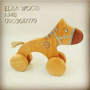 سگ چوبی چرخ دار-تصویر 2