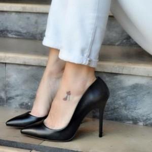 کفش زنانه مجلسی پاشنه بلند مدل لودشگا-تصویر 2
