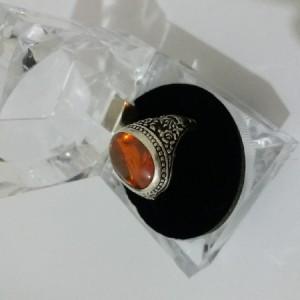 انگشتر نقره 925 سنگ لعل-تصویر 4