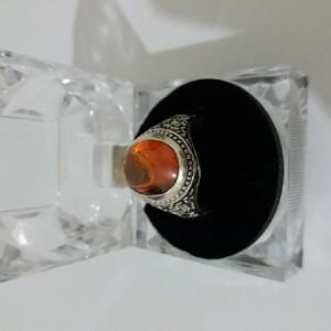 انگشتر نقره 925 سنگ لعل-تصویر 3