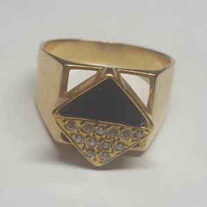 انگشتر طلا ۱۸عیار کم اجرت-تصویر 2
