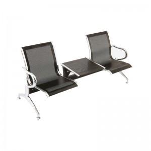 صندلی انتظار دو نفره میزبان دار مدل HB 154 شفق