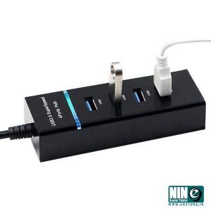 هاب 4 پورت USB 3.0 مدل 303-(سفید.مشکی)-تصویر 2