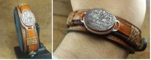 دستبندچرم  دستبندچرم طبیعی اصلی