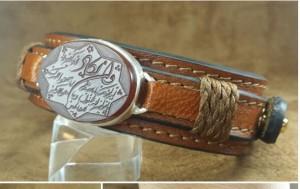 دستبندچرم  دستبندچرم طبیعی اصلی-تصویر 2