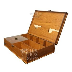 جعبه دمنوش جعبه پذیرایی جعبه چوبی لوکس باکس LB10-تصویر 5
