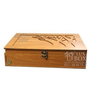 جعبه دمنوش جعبه پذیرایی جعبه چوبی لوکس باکس LB10-تصویر 4