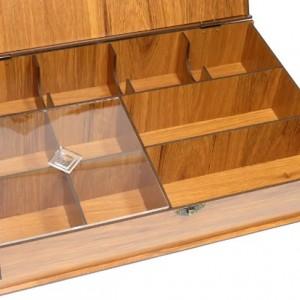 جعبه پذیرایی چای کیسه ای و دمنوش لوکس باکس کد LB10-تصویر 2