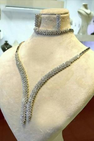 سرویس نقره جواهری