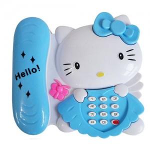 تلفن موزیکال مدل Hello Kitty
