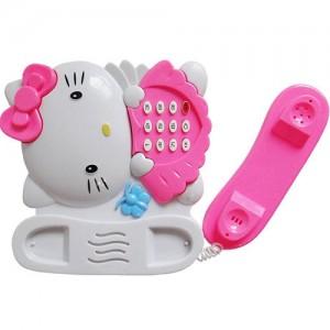 تلفن موزیکال مدل Hello Kitty-تصویر 3