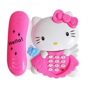 تلفن موزیکال مدل Hello Kitty-تصویر 4