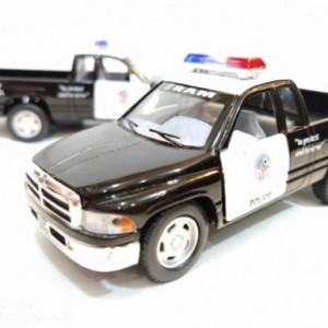 ماشین اسباب بازیدوج (DODGE RAM BY KINSMART) پلیس-تصویر 2