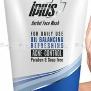 ژل شستشوی صورت آی پلاس iPLUS مخصوص پوست های چرب و آکنه دار