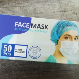 ماسک سه لایه پرستاری بسته 50 عددی