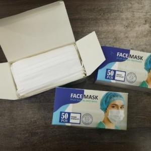 ماسک سه لایه پرستاری بسته 50 عددی-تصویر 3