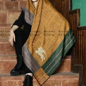 روسری نخی پائیزه-تصویر 4