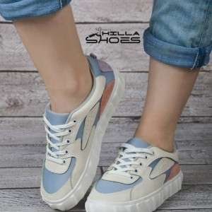 کفش ونس تیکه دوزی چرم-تصویر 3