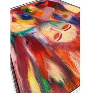 تابلو نقاشی رنگ روغن مدل جدایی کد QAF- 01-تصویر 2