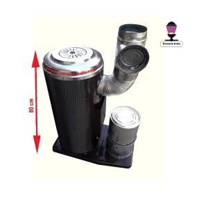 بخاری نفتی-گازوئیلی عایق دار(سایز ۸۰ سانتی)-تصویر 2