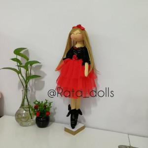 عروسک تیلدا یلدایی-تصویر 2