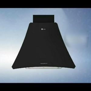 هود شومینه ای درسا مدل رعنا مشکی (سایز ۹۰)