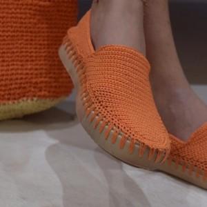 کفش دستبافت زنانه-تصویر 2
