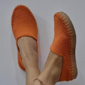 کفش دستبافت زنانه