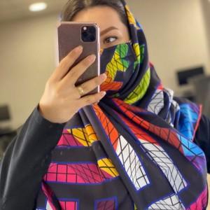 ماسک و روسری رنگی-تصویر 2