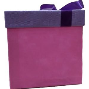 باکس هدیه سایز بزرگ مدل پاپیون + هدیه-تصویر 4