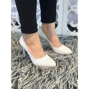 کفش مجلسی لمه سفید-تصویر 3