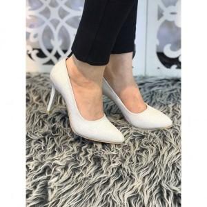 کفش مجلسی لمه سفید-تصویر 2
