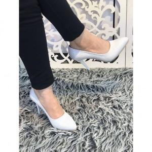 کفش مجلسی لمه سفید-تصویر 4