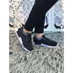 کفش کتانی دخترانه مدل ۱۰۹۰ مشکی-تصویر 3