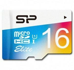 Silicon Power Elite Color microSDXC - 16GB