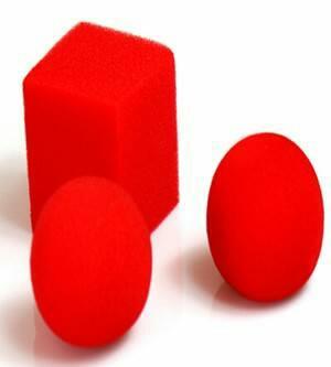 تبدیل دو توپ به مکعب اسفنجی