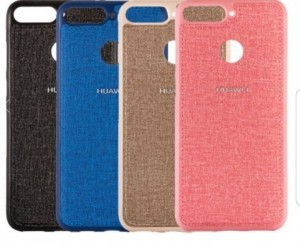 قاب طرح پارچه ای مناسب Huawei Y6 2018 / Y6 Prime 2018 /Honor 7A