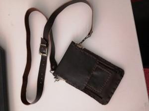 کیف کمری چرم طبیعی دست دوز-تصویر 2