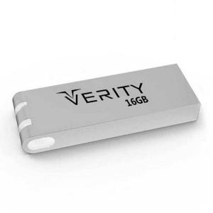 فلش مموری برند وریتی مدل V712 با ظرفیت 16 گیگابایت و رابط USB 2.0